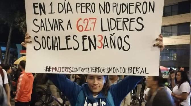 Asociación Americana de Juristas condena muerte y represión oficial en Colombia